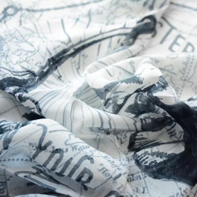 Photo de notre Bandana en coton PORTE BONHEUR par Monsieur Charli
