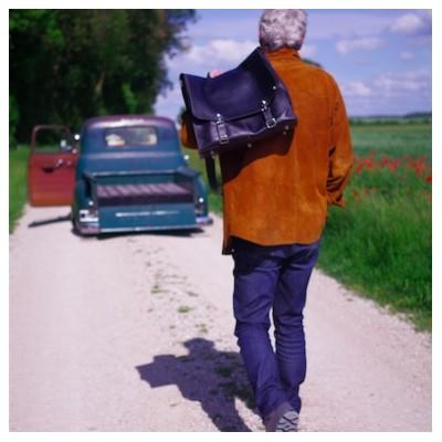 Photo de notre Sac de voyage en cuir CHEYENNE par Monsieur Charli